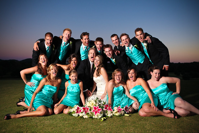big bridal party - a gallery on Flickr