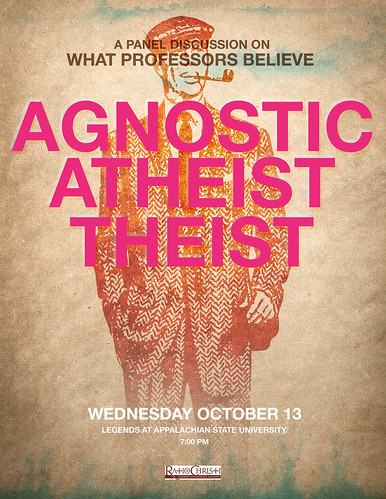 Agnostic, Atheist, Theist by scolliewag