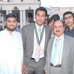 Reception for Aisam-ul-Haq