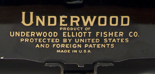 Underwood Elliott Fisher Co.