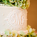 Yummalicious Cake with Monogram