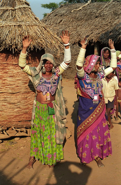 Banjara women showing their Bangles