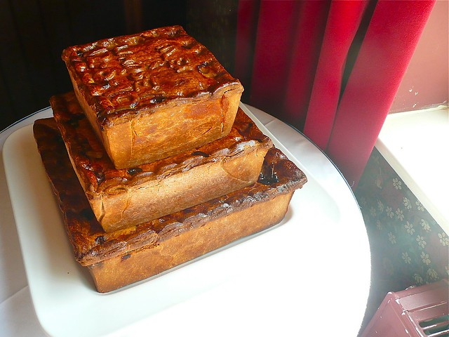Layered Pork Pie Wedding Cake
