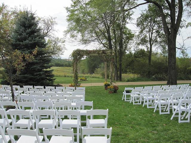Wedding trellis