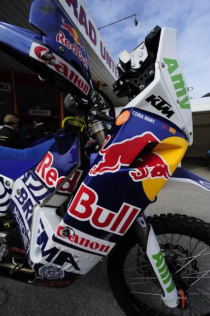 Marc Coma Dakar Rally KTM Motorcycle (c) 2010 Bernhard Egger :: ru-moto images 0498