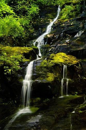 sunrise waterfall northcarolina notblogged cascade smokies smokymountains henwallowfalls notei collectionslideshow notcipb nottwit
