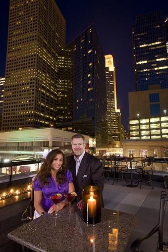 David Koch and Wife.