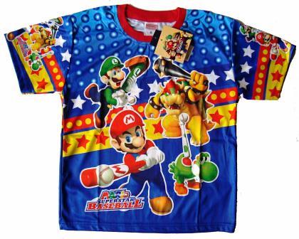 Cn Nintendo Super Mario Blue T Shirt For Kids Flickr