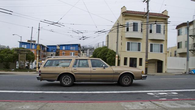 Station wagon, San Francisco