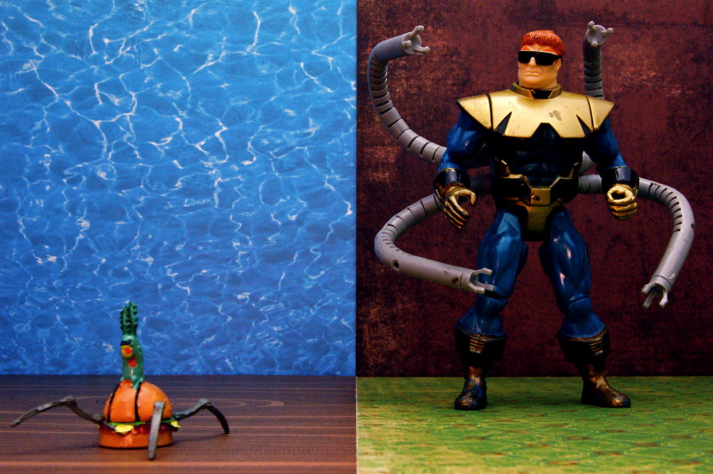 Sheldon J. Plankton vs. Doctor Octopus (276/365)