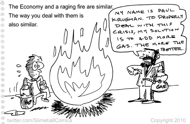 2010_10_05 The Economy and a Raging Fire with Paul Krugman