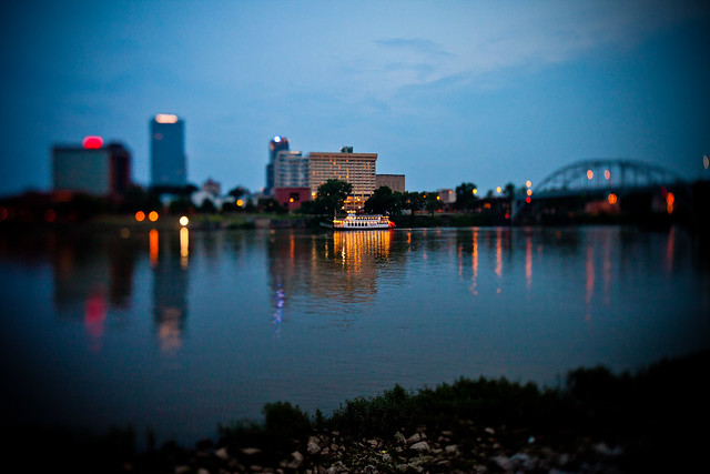 Little Rock Tilt from Flickr via Wylio