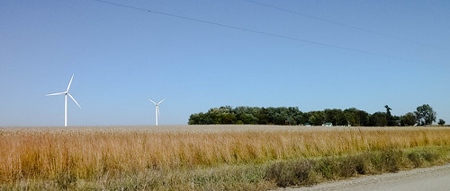 windmill wind farm iowa jefferson