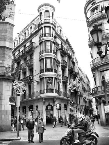 barcelona bw
