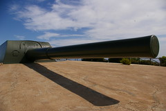 pipeline transport(0.0), shotgun(0.0), rifle(0.0), missile(0.0), firearm(0.0), gun(0.0), gun barrel(0.0), cannon(1.0),