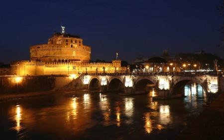 Castel Sant'Angelo & Ponte, Roma - Rome's Castle & Bridge