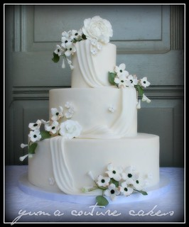 Yuma Arizona Wedding Cake - Crystal