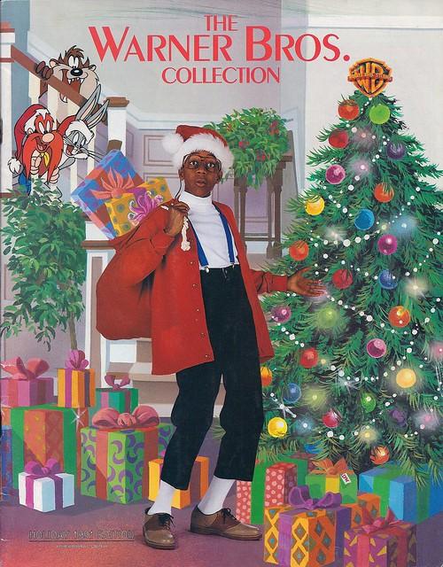 Warner Bros Studio Store Christmas Catalog 1991 Family