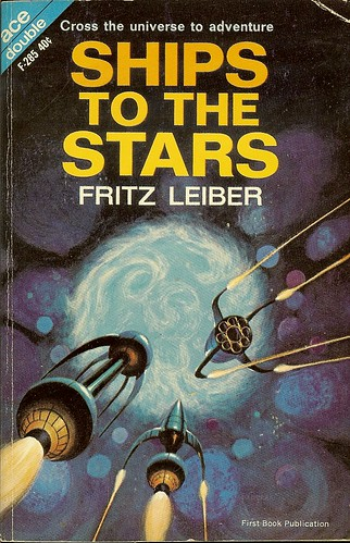 Fritz Leiber - Ships To The Stars - Ace Double F-285 - cover artist Jack Gaughan
