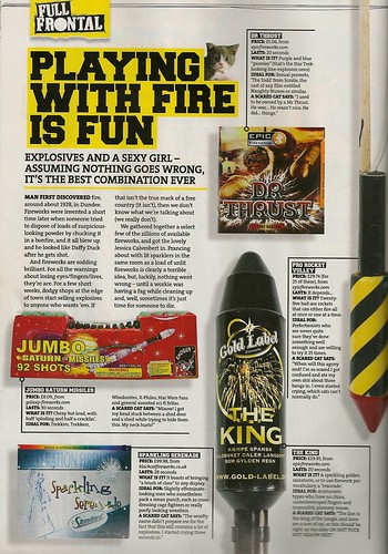 Epic Fireworks Feature Front Magazine October Issue 148