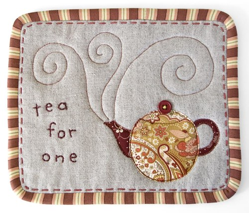 """Tea for One"" Mug Rug"