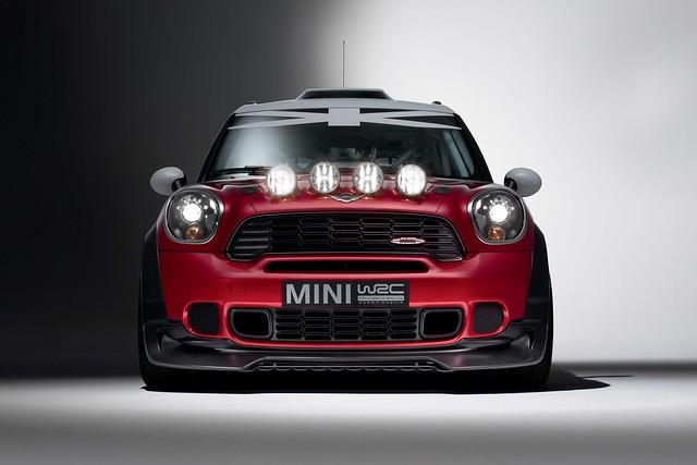 MINI WRC front