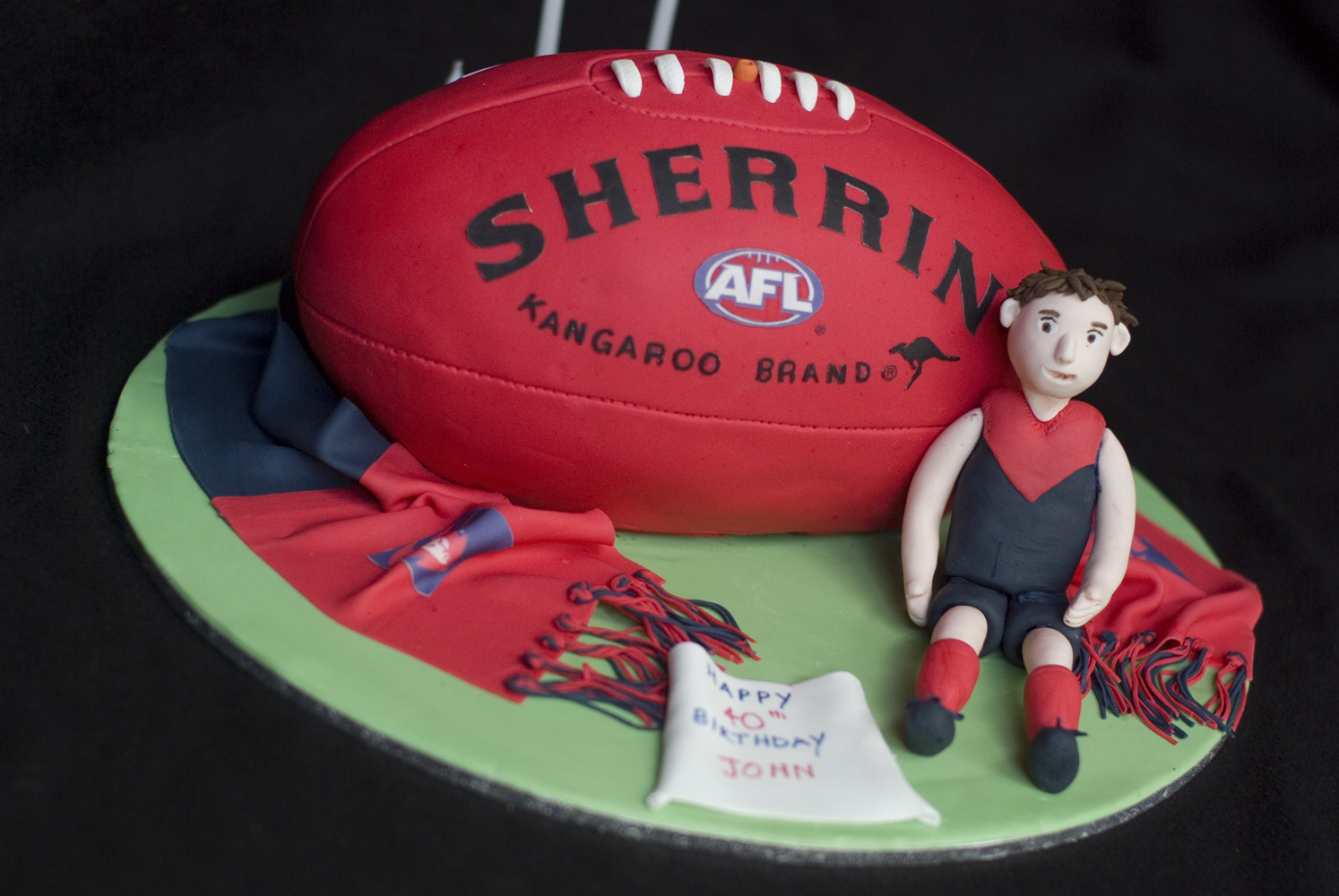 Football Birthday Cake Pics