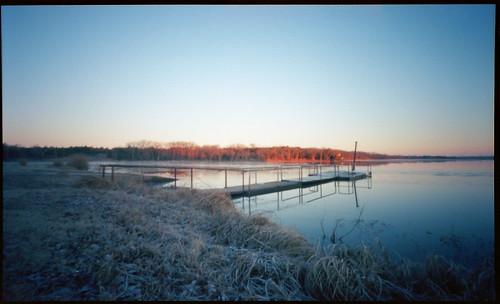 winter 120 film oklahoma sunrise holga kodak pinhole portra cushing 400vc 120wpc cushinglake