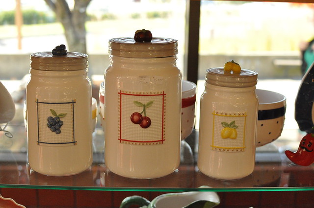 jar-shaped canisters