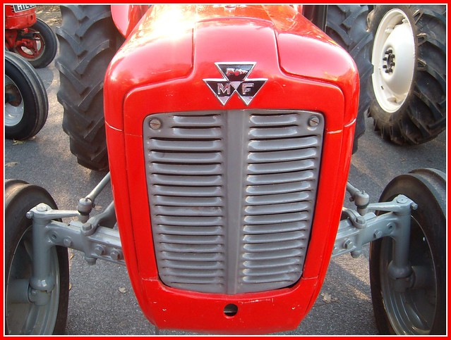Mf 240 Tractor Grill : Fergsuon and massey ferguson tractor front grills a