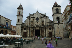 Cathedral in Old Havana, Cuba