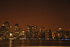 New York Skyline at 2.30A.M on a summer night