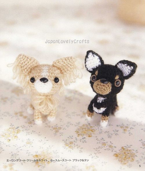 AMI AMI DOGS 2 BY MITSUKI HOSHI - JAPANESE AMIGURUMI ...