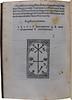 Printer's device from Dictys Cretensis [pseudo-]: Historia TroianaEnd of 'Historia Troiana' Sp Coll Hunterian By.3.5.