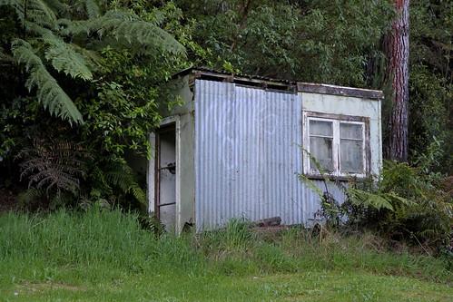 Old house, Pyes Pa, Bay of Plenty, New Zealand
