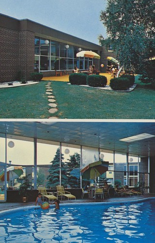 The Cardboard America Motel Postcard Archive Midway Motor Lodge Madison Wisconsin