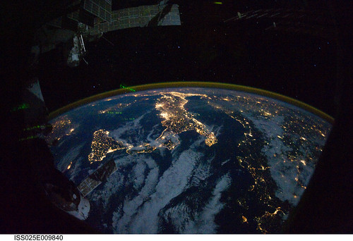 Europe, and Africa at Night (NASA, International Space Station Science, 10/28/10)