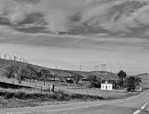 california house nature windmill rural landscape drive nikon windmills hills layer pastoral livermore idyllic shum d300 northflynnroad idacshum