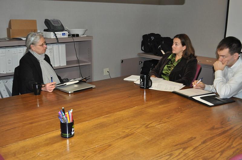 Hamtramck Mayor Karen Majewski Talks with Heather Van Poucker and Luke Forrest of the League