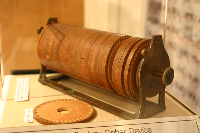 Jefferson Cipher Wheel