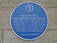 Photo of Edward Birchall blue plaque