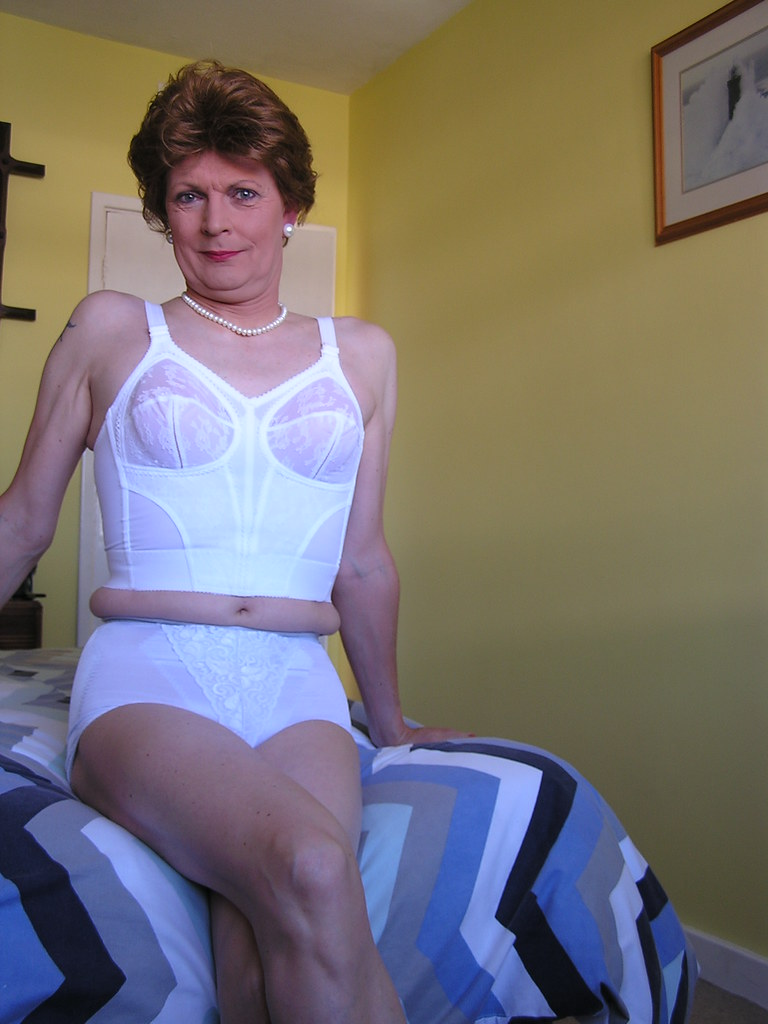 Trannies in girdles