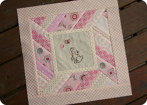 "do. Good Stitches ""Faith"" Quilt Block for Rachel"