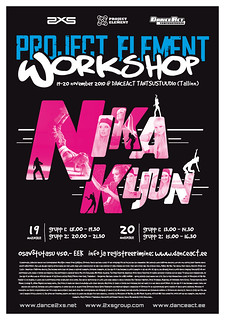 PROJECT ELEMENT Workshop by Nika Kljun » 19.-20. nov 2010
