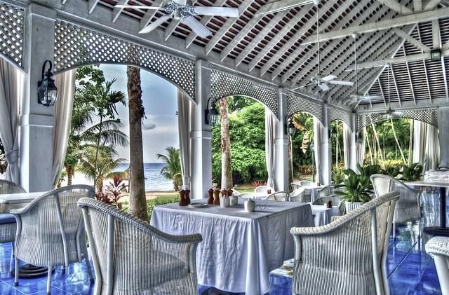 Pallazina Restaurant at Couples Sans Souci HDR