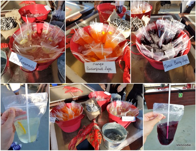 Soju Lemonade, Mango Passionfruit Soju, Mixed Berry Soju
