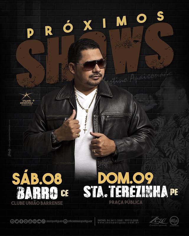 PRÓXIMOS SHOWS - ZEZO