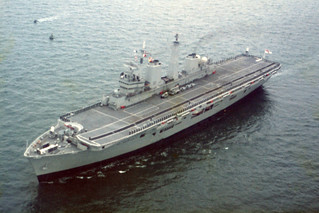 HMS Illustrious 18/06/1982, North Sea