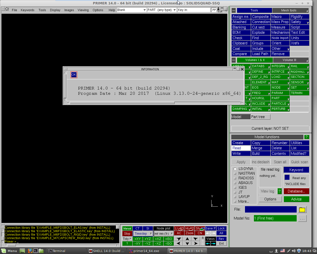 working with Oasys Suite 14.0 Linux x64 full