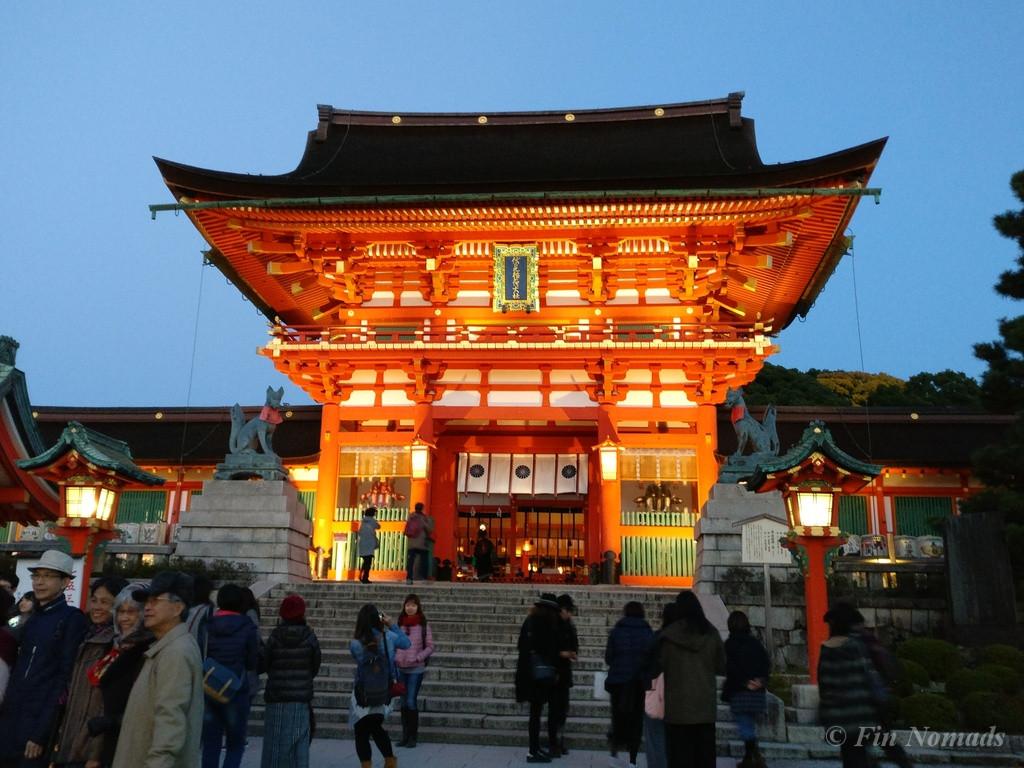 Kyoto inari shrine